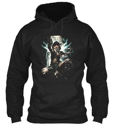 No Mercy Black Sweatshirt Front