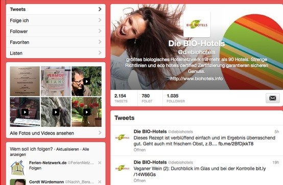 https://twitter.com/diebiohotels #twitter #biohotels