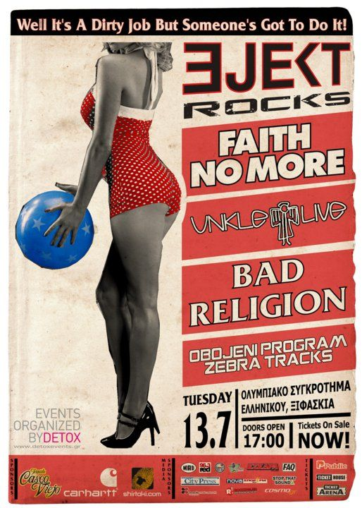 Ejekt Festival, Faith No More, Unkle, Bad Religion (2010)