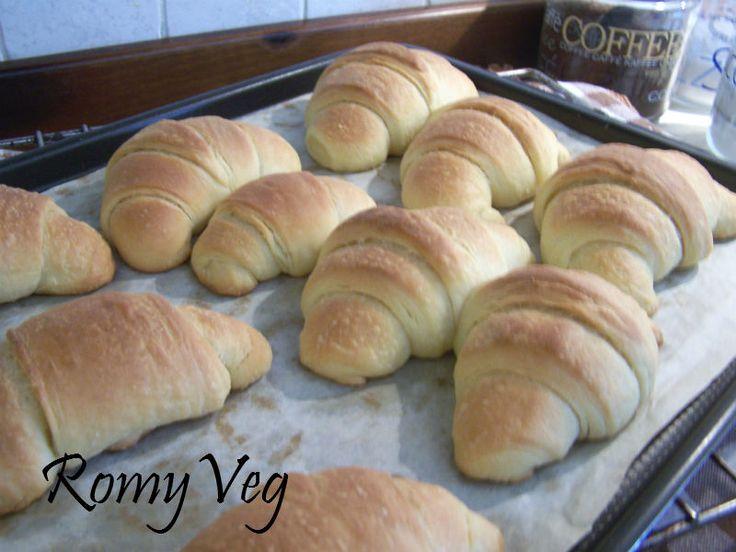 La mia Cucina Veg: Croissant Vegan Morbidosi!