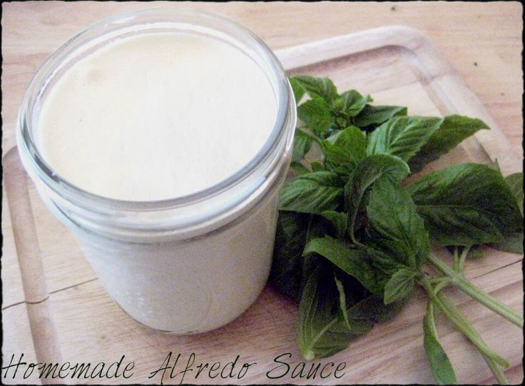 DON'T buy alfredo sauce. This recipe is easy, fresh and delicious. This is THE best homemade Alfredo Sauce recipe, in my opinion.
