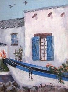 """Boat Planter (Paternoster)"""