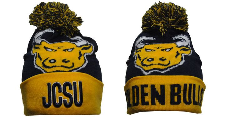 Johnson C Smith University Pom Beanie - Brothers and Sisters' Greek Store