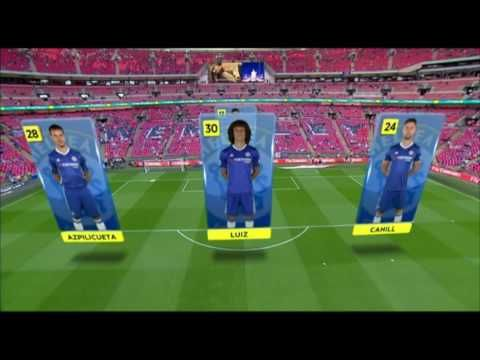 FA Cup Final Augmented Reality using Viz Virtual Studio & Spidercam - YouTube