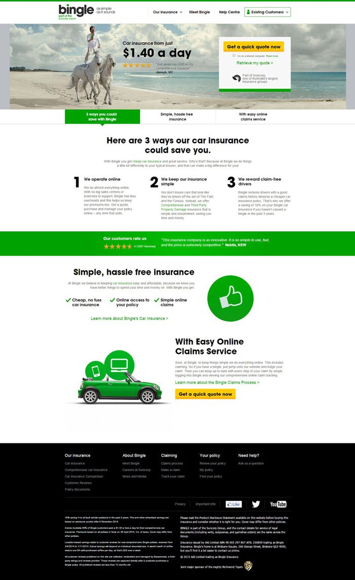 26 Excellent Insurance Websites Inspiration Insurance