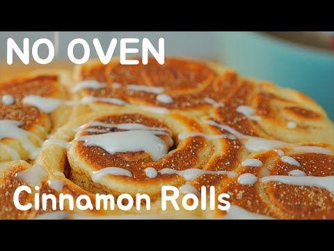 NO OVEN) 냄비 시나몬 롤 Cinnamon Rolls シナモンロール [스윗더미 . Sweet The MI] - YouTube