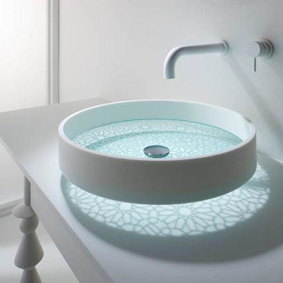 Bathroom Sink, love the reflection