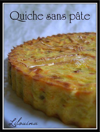 Coucou ! Pour ce midi, je voulais faire une quiche, mais pas envie de faire une pâte, alors je me suis dit