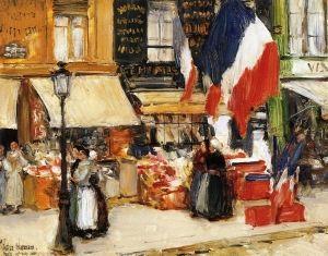 Чайлд Хассам «День взятия Бастилии, Париж»