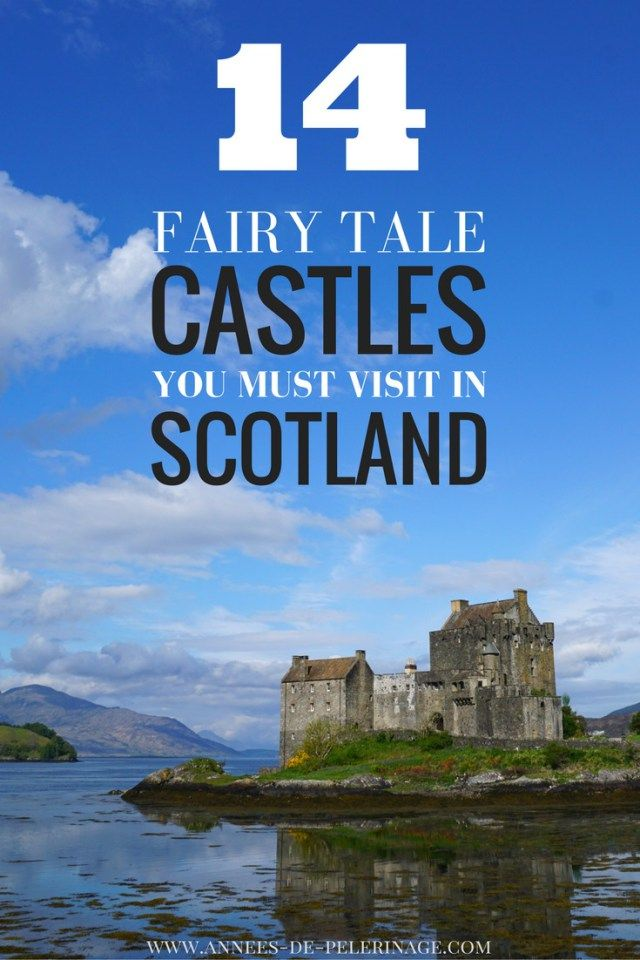 The most amazing castles in Scotland