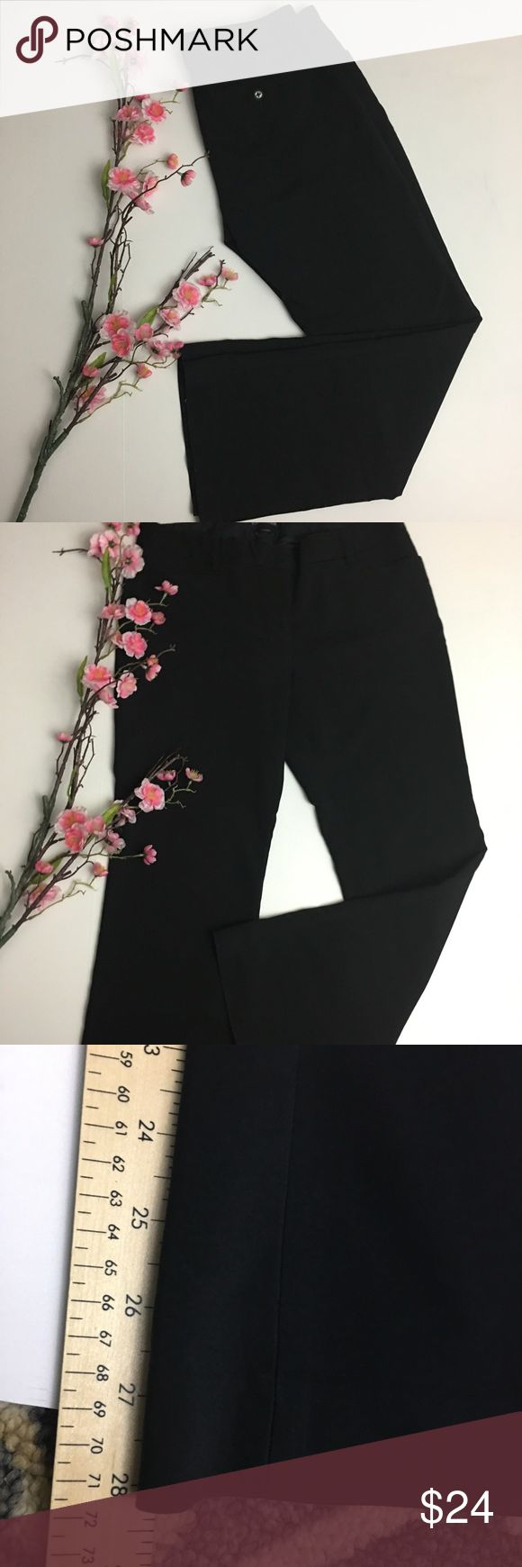 """Express Columnist Short Inseam Black Dress Pants 28"""" inseam. Great condition. No marks, tears or stains. Original price $79.50. Listed at 70% off The Limited Pants Trousers"""