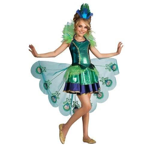 Peacock Fancy Dress Ideas for Girls