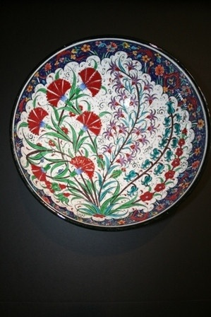 "12"" Turkish Ceramic Bowl"