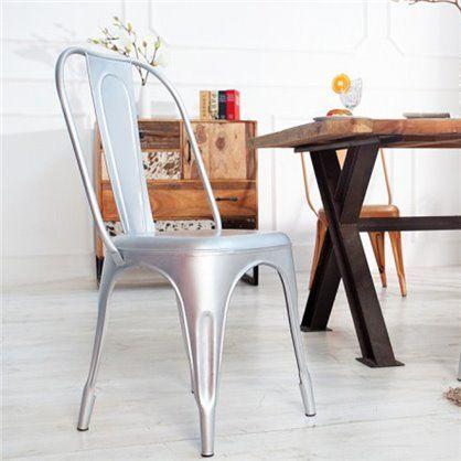 Krzesło Montmartre silver, mat