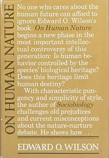 On Human Nature, first edition.jpg