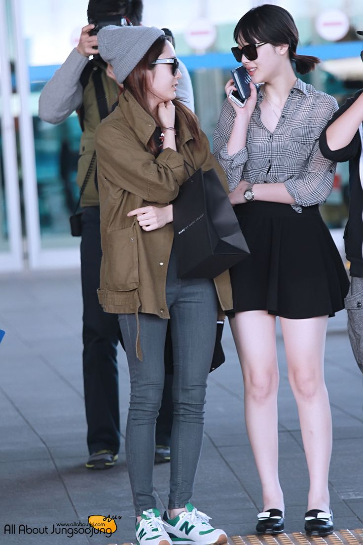 Krystal Jung Airport Fashion 2013 Images Galleries With A Bite
