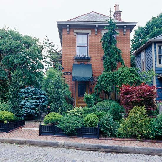 Hgtv Small Front Yard Landscaping Ideas: 223 Best Images About Conifer Ideas On Pinterest