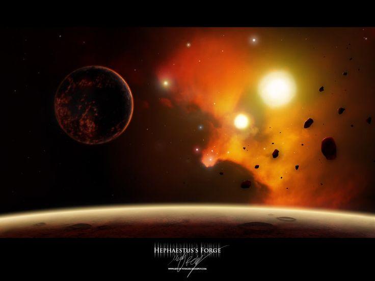 Hephaestus's Forge. by MacRebisz on deviantART