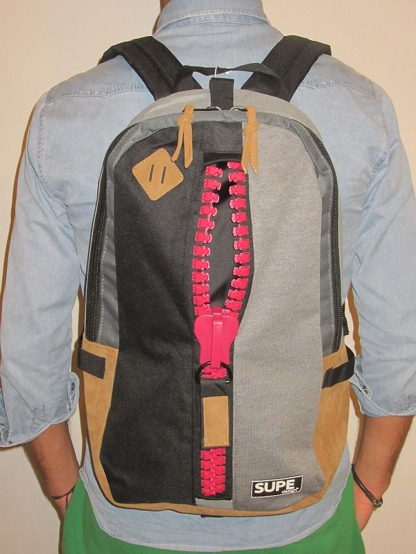 SUPE design backpacks