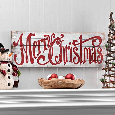Merry Christmas Word Wood Plaque Wood Christmas Decorations Christmas Signs Wood Christmas