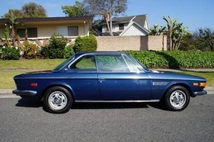 1972 BMW 3.0 CSi Coupe E9 #VCI #vintagecars #classiccars