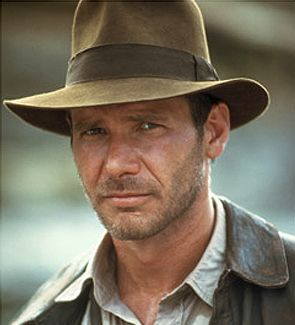 Indianna Jones Hat - The one that had to be stapled to Harrison Fords Head