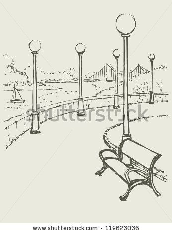 17 best images about park sketches on pinterest trees