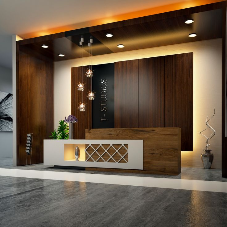 Home Office And Studio Designs: T Studios Interior Reception By Egmdesigns