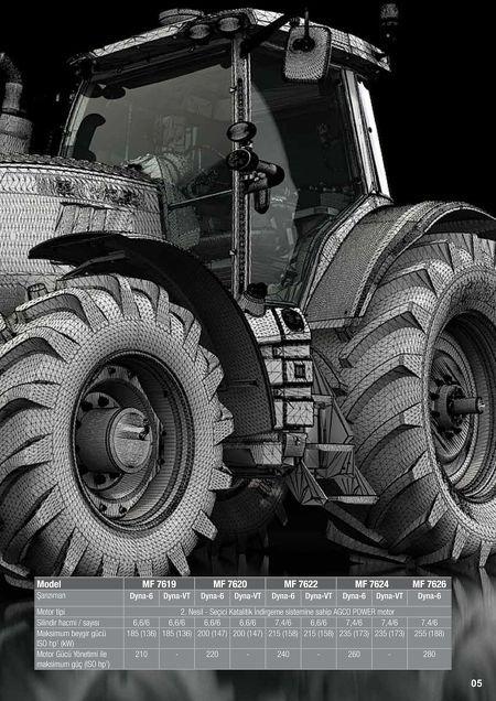 MF Tractors - MF 7600 Broşürler - TR