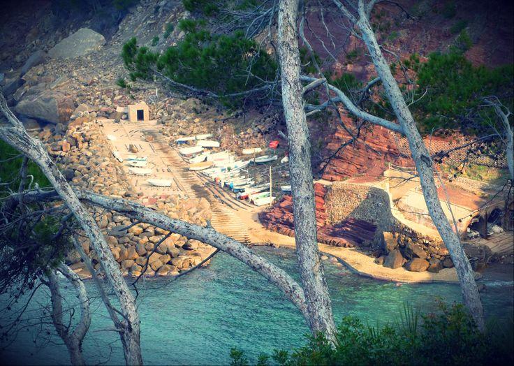 Cala Estellencs en invierno - by Mar y Roc Mallorca Wandern. www.maryroc.de