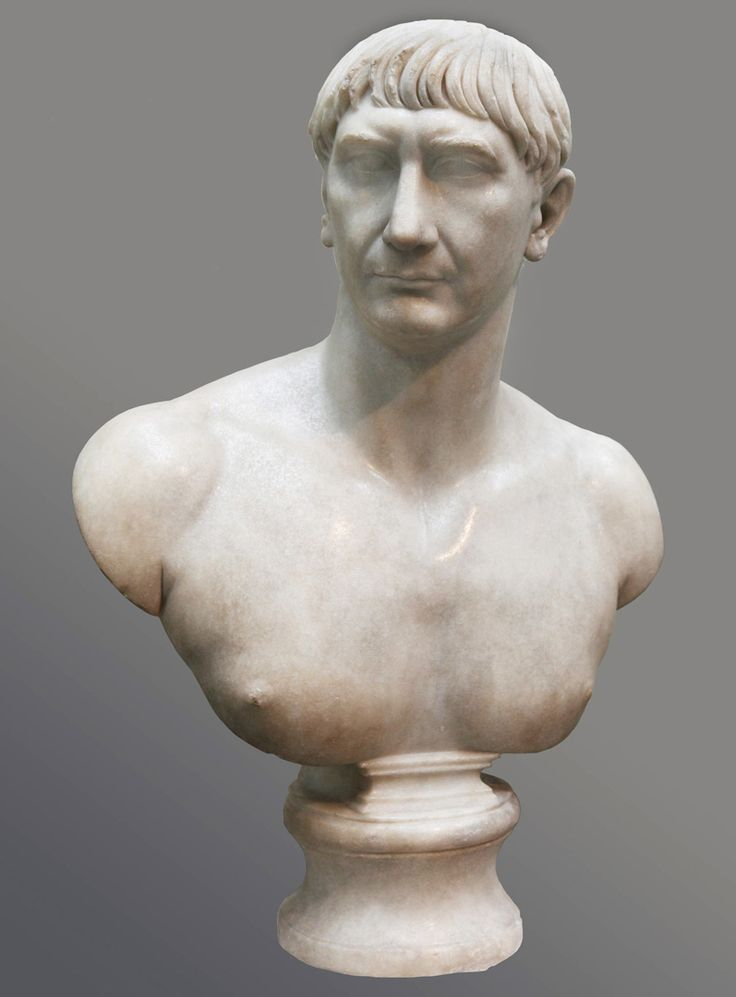 Portraits Of Trajan Emphasize Symbolic Connections With