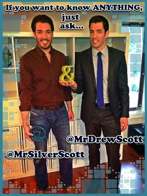 Ask us anything! @MrDrewScott or @MrSilverScott Yes...anything ;)