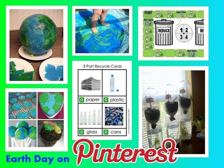 Pinterest Pinboard of the Week: Earth Day Therapy Activities & Treats -  Pinned by @PediaStaff – Please Visit http://ht.ly/63sNt for all our pediatric therapy pins