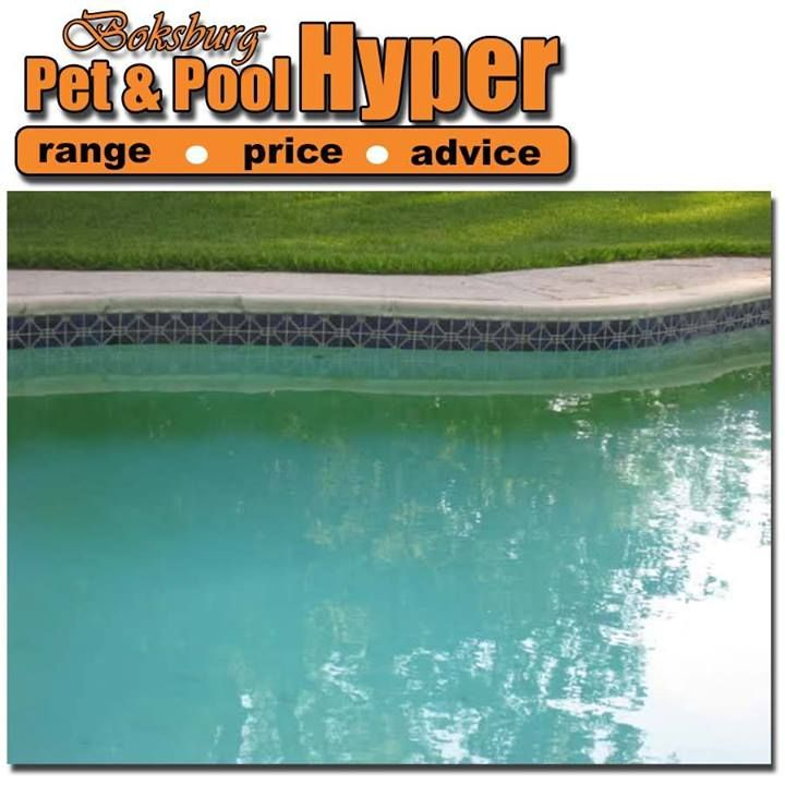 Algae on walls & floor (poor circulation and or filtration) Check your pump running time. 8 – 12 hrs / day depending on pool size, bather load and weather. Sufficient chemicals for pool size, bather load and weather? How old is your filter sand? Filter sand should be changed every 2 years. Contact your nearest Pet & Pool Hyper Boksburg #swimmingpool #caretips
