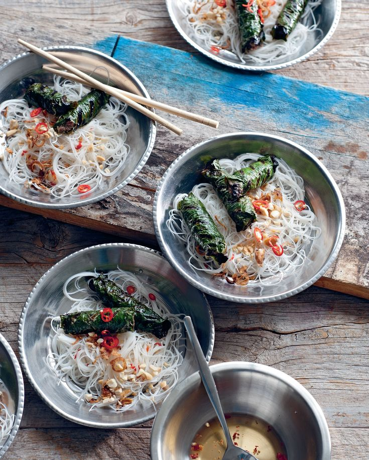 10 best our top 10 vietnamese dishes images on pinterest book beef and lemongrass wrapped in betel leaf recipe from the food of vietnam by luke nguyen forumfinder Gallery