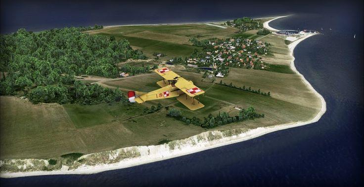 Danish Airfields X – Tuno – review (5****) • C-Aviation #Denmark #FSX #Scenery #VidanDesign #History