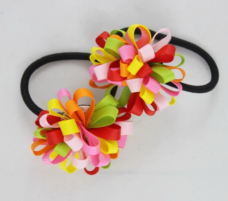 1.26$  Watch here - TS New 2015 Ribbon Bow Hair Tie Rope Hair Band Colorfully Boutique Bows Elastic Hair band for girl and woman hair Accessories   #aliexpress