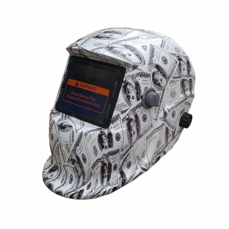 Free Shipping QT-MY Newset Auto Darkening Welding Helmet TIG MIG MMA Electric Welding Mask/Helmet/Welder Cap/Lens for Welding