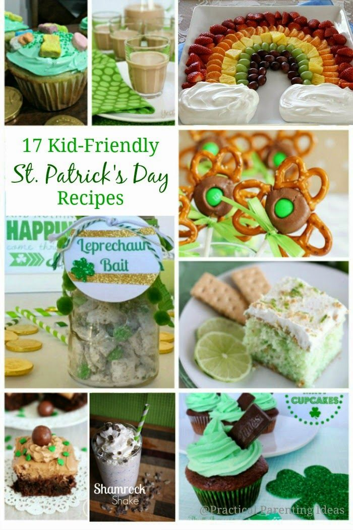 Practical Parenting: 17 Kid-Friendly St. Patrick's Day Recipes