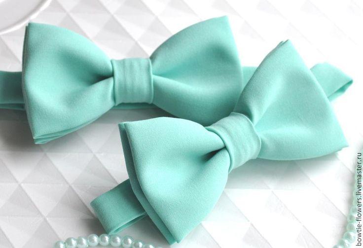 Купить Галстук-бабочка мятный - мятный, однотонный, ментоловый, галстук-бабочка, галстук бабочка купить