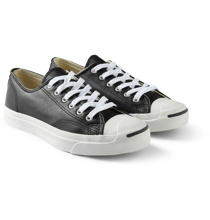 Converse - Jack Purcell Leather Sneakers  | MR PORTER