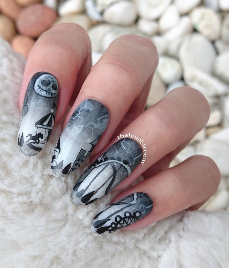 The 25 best cartoon nail designs ideas on pinterest nail art 70 cartoon nails art designs 2018 prinsesfo Image collections