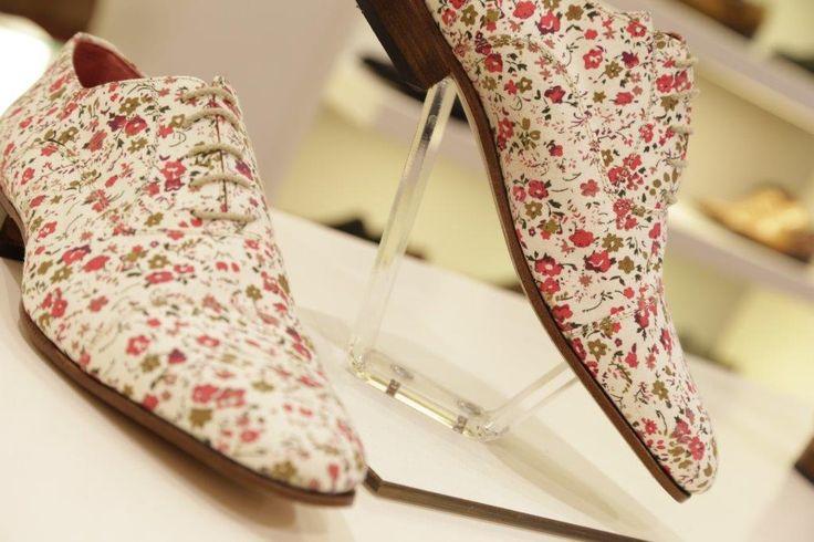 O'Quirey Milano Patchwork   #flowers #handmade #shoes #dutchdesign #oquirey