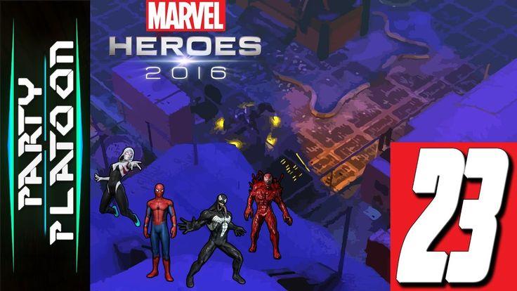 Party Platoon   Marvel Heroes 2016 (#23 Venom Gameplay) You Won't Believ...