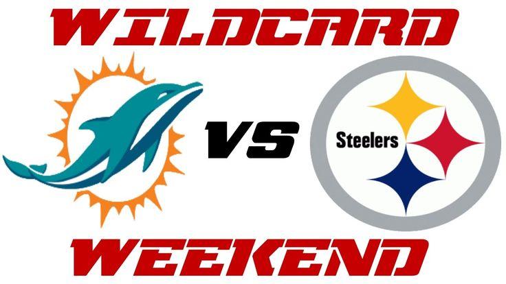 NFL Picks | Dolphins vs Steelers |Against The Spread | Wildcard Weekend