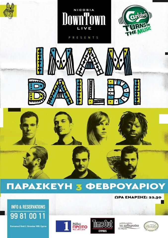 Δε κρατιόμαστε για την επιστροφή μας στην αγαπημένη μας Κύπρο! Πρώτη στάση η Λευκωσία και η παρθενική μας εμφάνιση στη σκηνή του DownTown Live τη Παρασκευή 3 Φεβρουαρίου! Σειρά έχει το Σάββατο 4 Φεβρουαρίου η Λεμεσός και το Ravens Music Hall !!! Σας περιμένουμε!!!!
