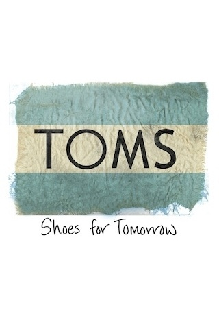 TOMS Shoes, keep making the wedges and I'll keep putting shoes on kids feets!
