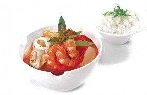 Laksa Seafood Soup Recipe