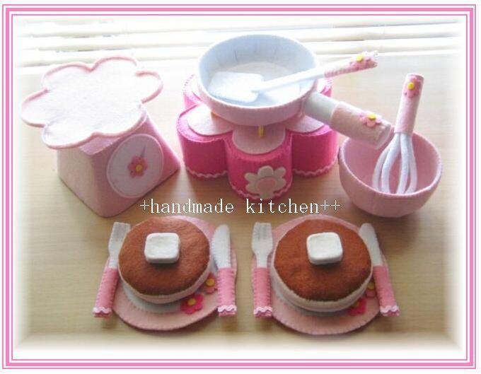先日ご紹介したパンケーキセットが完成しました♪オークション出品中!http://page6.auctions.yahoo.co.jp/jp/auction...