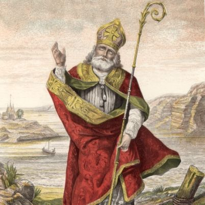 Happy St. Patrick's Day.☺ St Patrick was a Christian missionary. Two authentic letters from him survive, the only universally accepted details of his life. When he was 16, he was captured in Britain by Irish raiders and taken as a slave to Ireland. He escaped, returned home and became a bishop. He later returned to Ireland, but little else is known. By the seventh century, he was credited as the patron saint of Ireland.